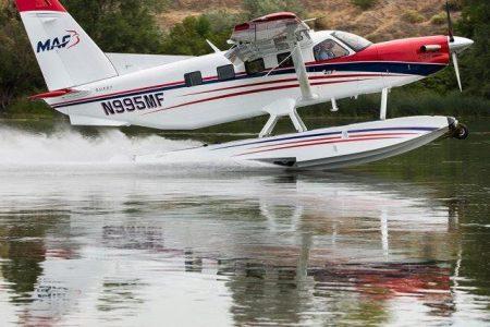 Avions MAF Cessna 208 amphibie