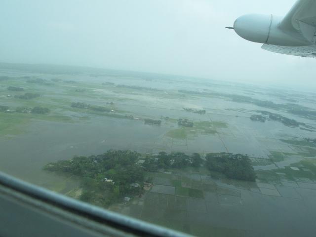 Cyclone Mahasen au Bangladesh.
