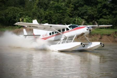 Avion Cessna caravan amphibie
