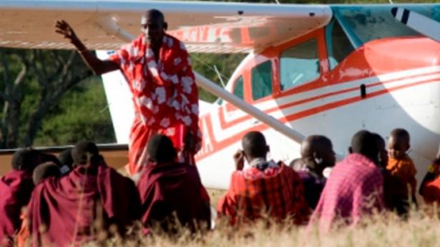 avion humanitaire voler pour apporter l esperance
