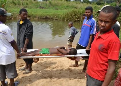 Enfants Blessés à Madagascar