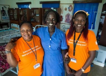 Sage Femme Au Sud Soudan