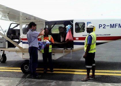 Evacuation Sanitaire En PNG