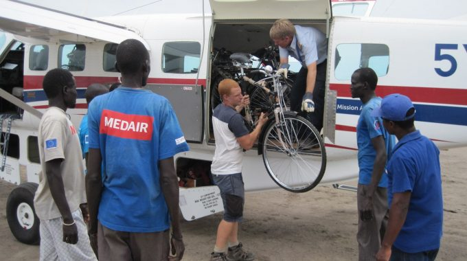 44036 Bicycles To Aid Medair