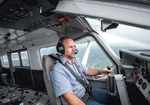 Un Jour Dans La Vie D'un Pilote Au Timor Oriental