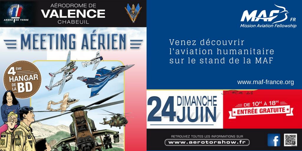 Venez nous rencontrer à l'aerotorshow à Valence-Chabeuil ...