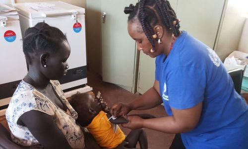 Nourriture Et Vaccination Dans Les Camps De Réfugiés