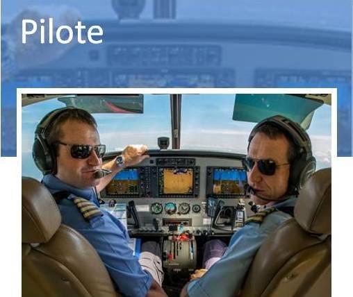 metier de pilote