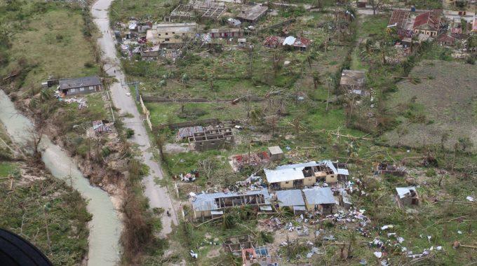 Passage De L'ouragan Matthew à Haiti