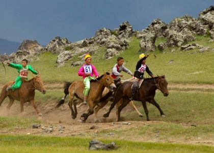 Jeune Cavalier Mongol