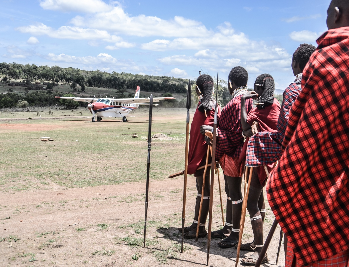 piste au Kenya