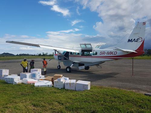 Acheminer Des Vaccins Contre L'épidémie De Rougeole à Madagascar