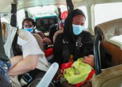 évacuation Deux Bébés
