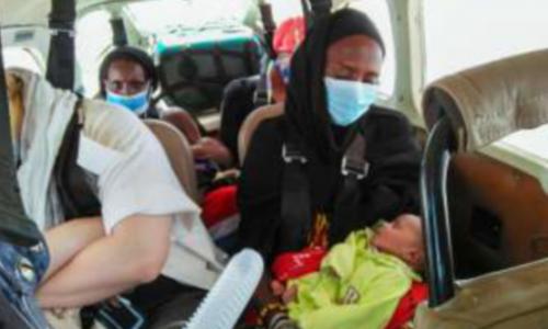 Evacuation Médicale De Deux Bébés Au Kenya