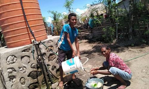 Sans Eau Il N'y A Pas De Vie Au Timor Oriental
