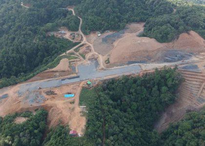 Construction Piste Lailenpi