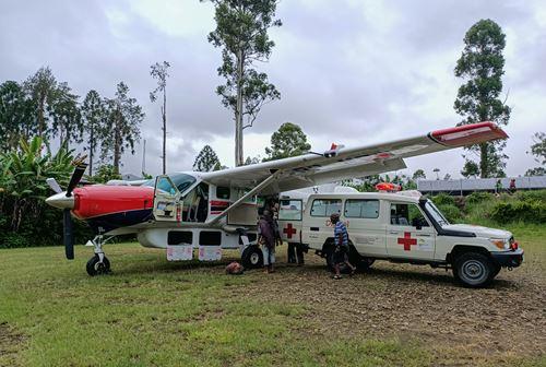 Evacuation Sanitaire Dans Les Montagnes De Papouasie Nouvelle Guinée