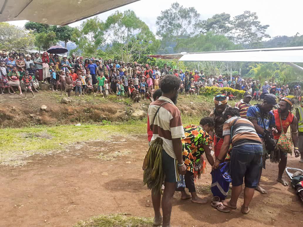 urgence médicale en PNG